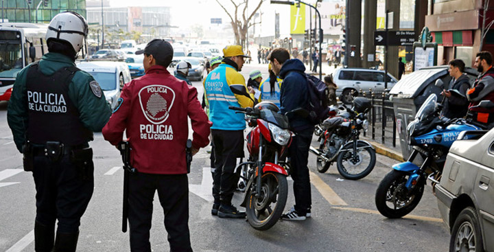 11 mil motos secuestradas